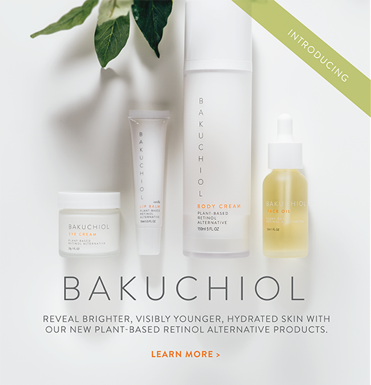 Introducing Bakuchiol: Reveal brighter, visibly younger, hydrated skin with our new plant-based retinol alternative products. Learn more here.