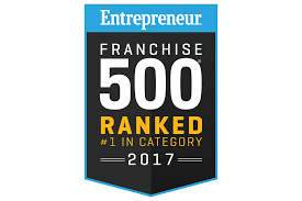 Entrepreneur Franchise 500 Ranked #1 in Category 2017